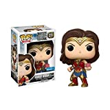 Funko - Figurine DC Justice League - Wonder Woman With Mother Box Exclu Pop 10cm - 0889698148696