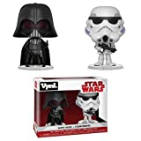 Funko Vynl: Star Wars-Darth Vader & Stormtrooper Collectible Figure, Multicolor
