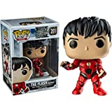 Funko - Figurine DC Justice League Movie - Flash Unmasked Exclu Pop 10cm - 0889698147415
