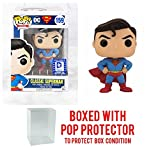Funko POP! Heroes Classic Superman Legion of Collectors Exclusive DC Comics Collectible (Pop with Protector Case)