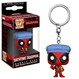 Funko Pop Keychain Playtime-Deadpool Bath Time Collectible Figure, Multicolor