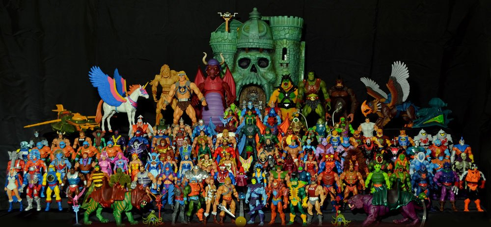 Masters of the universe 2000 collection