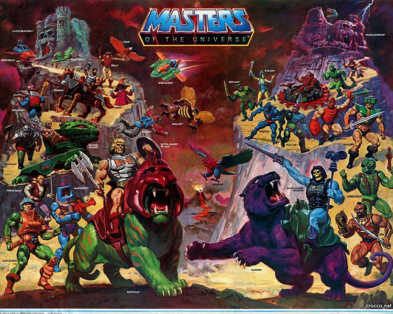 origen de He man and the masters of the universe