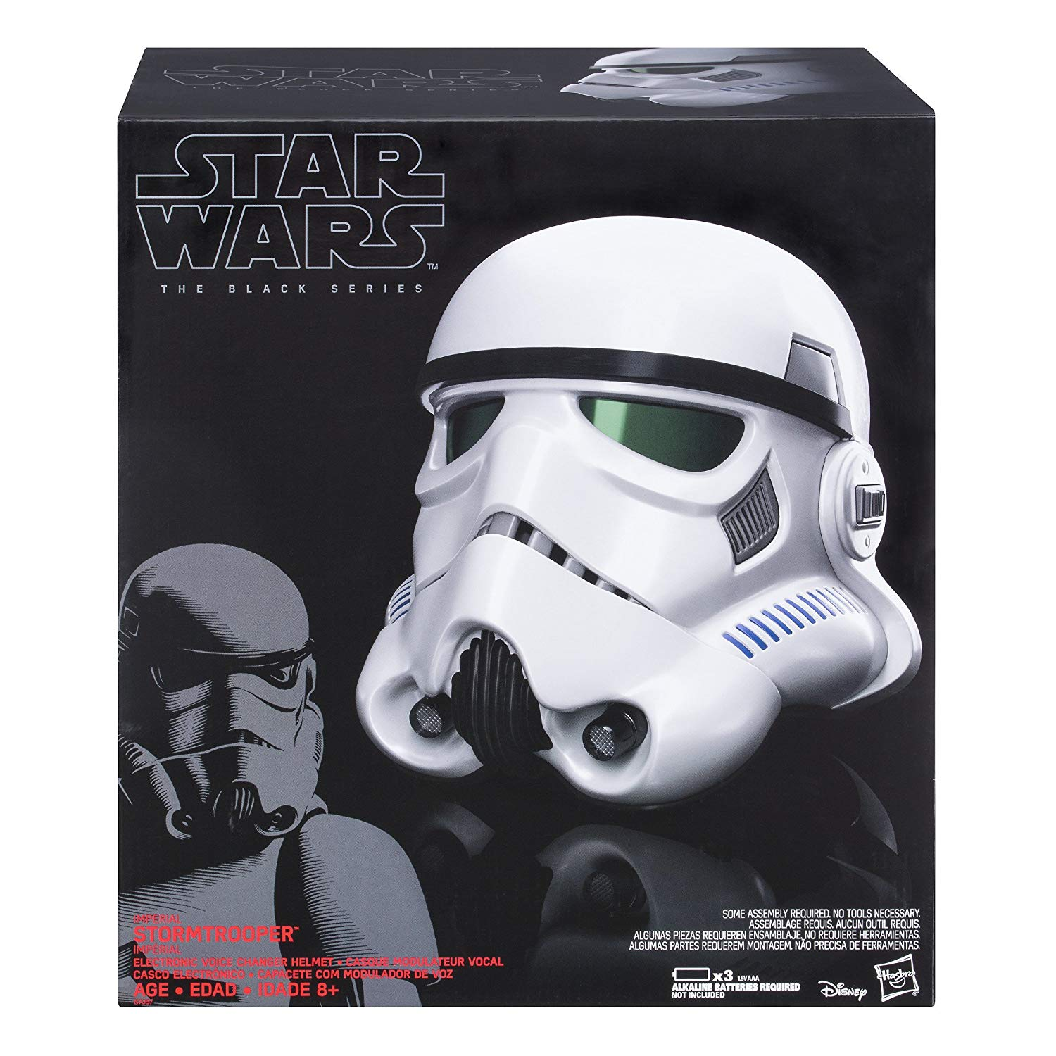 casco stormtrooper black series